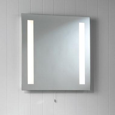 Spegel badrum belysning
