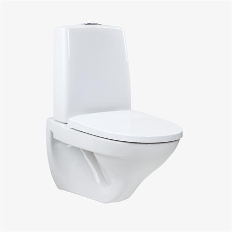 Toalett avloppsrör