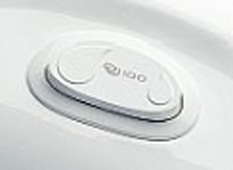 ido toalett spolknapp